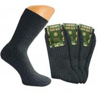 Amry-sokken met 40% wol en badstofzool