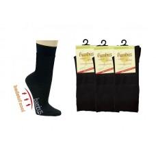 Bamboe sokken met badstof zool (3 paar)