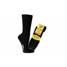 """""""Bamboe wellness sokken"""" EXTRA STERK - Unisex - Zwart (3 paar)"""