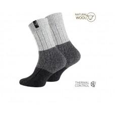 Clark Crown® Noorse wollen sokken (2 paar)