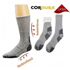 Extreem warme wollen sokken met badstof voering en zool
