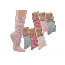 Noorse sokken in 3 kleuren (3 paar)
