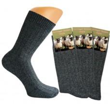 Noorse sokken Antraciet