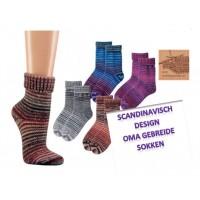 Scandinavisch design warme wollen sokken