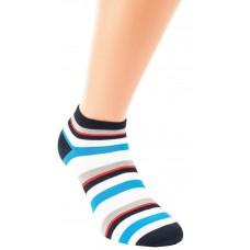 """Sneaker bamboe sokken """"Ringel"""" - Unisex (3 paar)"""