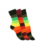 "Vincent Creation® Ladies sokken ""RAINBOW"" (3 paar)"