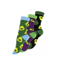 Vincent Creation® Sokken met advocado's (3 paar)