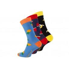 Vincent Creation® Sokken met fruit (3 paar)