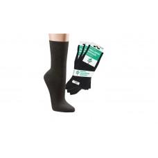 Zachte Modal sokken - Unisex - Zwart (3 paar)