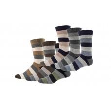 Trendy sokken met alpaca wol (2 paar)