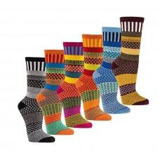 """Multi-Kleuren"" wollen sokken"